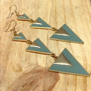 ❤️❗️Drop Triangle Earrings❗️❤️